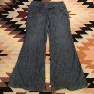 Level 99 Wide Leg Trousers
